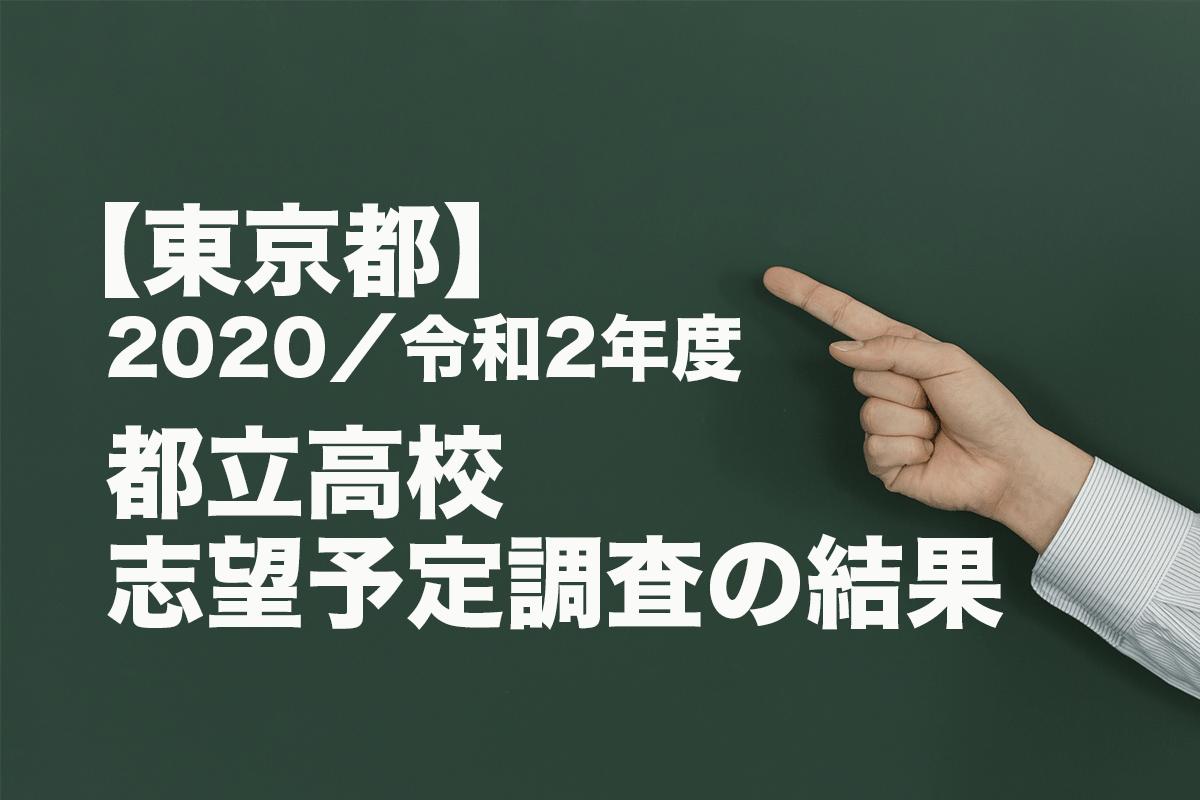 高校 東京 入試 都立